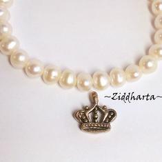 1 AG hänge / berlock: Kunglig Krona - Royal Crown