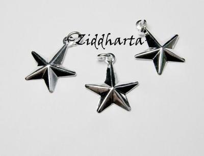 3 SP hängen: Assymetriska 13mm Stjärnor