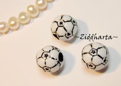 1st SPORT-pärla: SOCCER /Fotboll 11mm