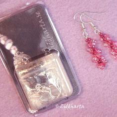 Smyckeskit: Spiral-örhängen- Material + mönster: LIME