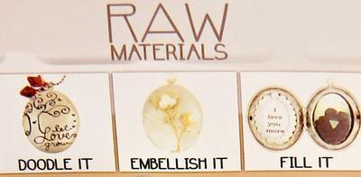 RAW: 1 AS Ovalt hänge - OVAL BERLOCK öppningsbar för foto & dekorationer
