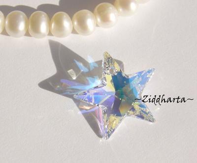 Swarovski 20mm - STAR - Crystal AB