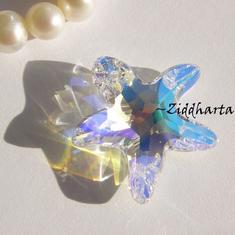 Swarovski 20mm - Starfish - Crystal AB