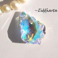 Swarovski 22x15mm - Baroque - Crystal AB