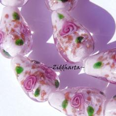 LampWork: Exklusiv Droppe ROSE GS - Large