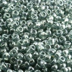 10gram Miyuki Seed Beads 11/0 - #178 BlackDiamond Luster - ca 1000 pärlor