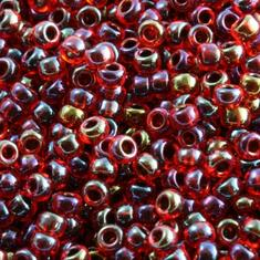 10gram Miyuki Seed Beads 11/0 - #367 Ruby Fancy Luster - ca 1000 pärlor