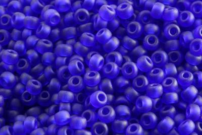 10gram Miyuki Seed Beads 11/0 - #151F Cobalt Matte - ca 1000 pärlor