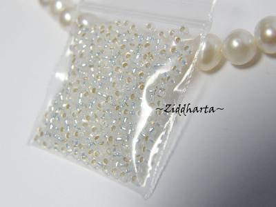 5gram Miyuki Seed Beads 15/0 - Opal SL - ca 1250 pärlor