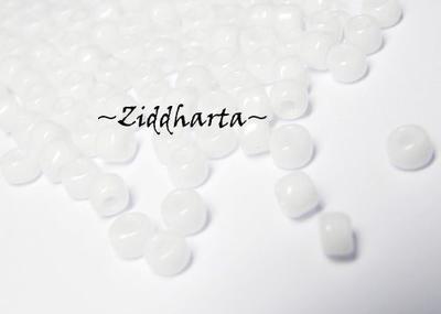 5gram Miyuki Seed Beads 15/0 - White - ca 1250 pärlor