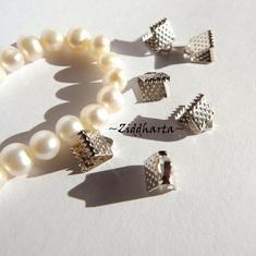 3par AS BandFästen till organza / smyckesband till halsband och armband