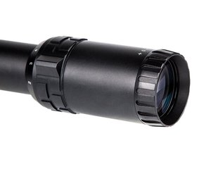 "OPT-1006 B (1-8x24), reticle version ""B""."