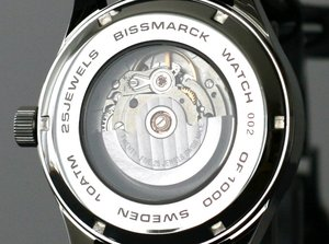 "Model ""R"", mechanical watch, Swiss ETA 2836-2, 25 jewels"