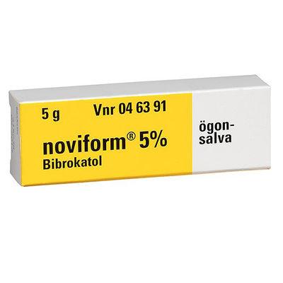 Noviform 5 % 5 G Ögonsalva - RESTNOTERAD