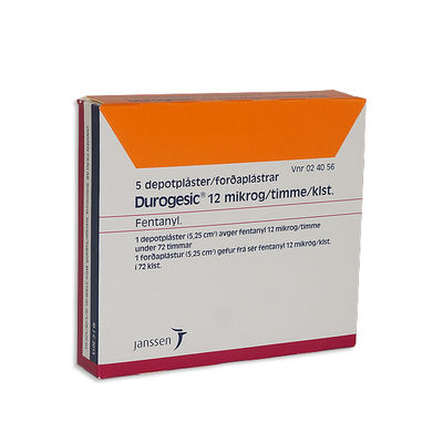Durogesic 12 mikrog/timme 5 ST Depotplåster