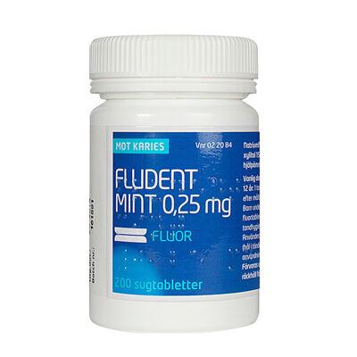 Fludent Mint 0,25 mg 200 ST Sugtablett