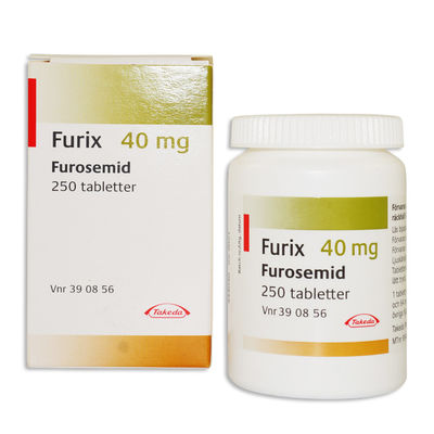 Furix 40 mg 250 TABL Tablett