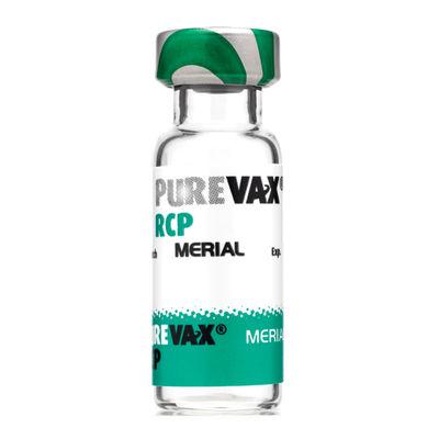 Purevax RCP 10 x 1 DOSER Frystorkat pulver och vätska till injektionsvätska, suspension