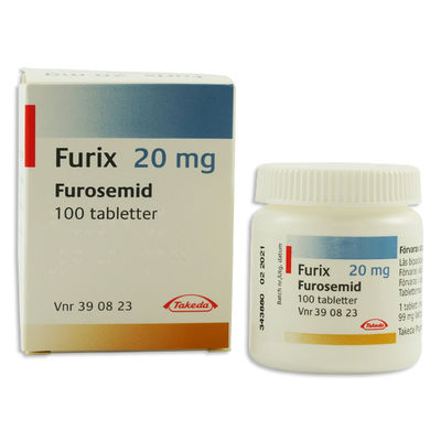Furix 20 mg 100 TABL Tablett