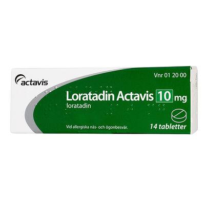 Loratadin Actavis 10 mg 14 ST Tablett