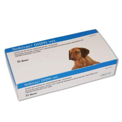Nobivac DHPPi vet. 25 x 1 DOSER Pulver och vätska till injektionsvätska, suspension