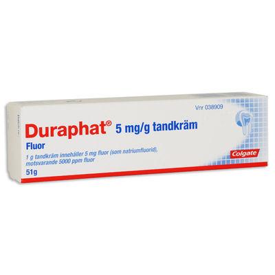 Duraphat 5 mg/g 1 x 51 gram Tandpasta