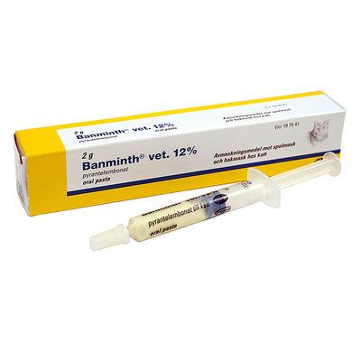 Banminth vet. 12 % 2 G Oral pasta