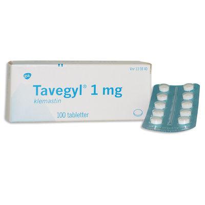 Tavegyl 1 mg 100 ST Tablett