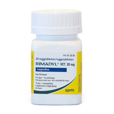 Rimadyl vet. 20 mg 20 ST Tuggtablett