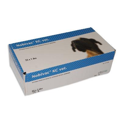 Nobivac KC vet. 25 x 1 DOSER Frystorkat pulver och vätska till suspension för nasal administrering