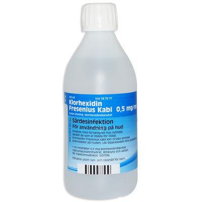 Klorhexidin Fresenius Kabi 0,5 mg/ml 250 ML Kutan lösning