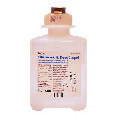 Natriumklorid B. Braun 9 mg/ml 20 x 100 ML Infusionsvätska, lösning