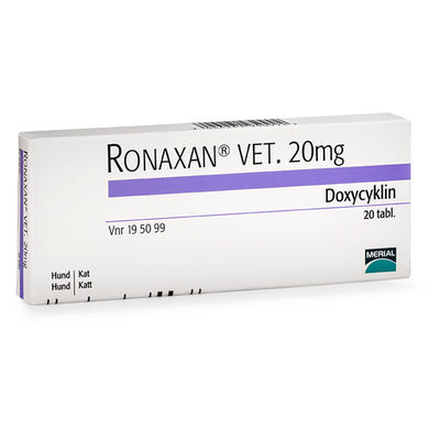 Ronaxan vet. 20 mg 20 ST Tablett
