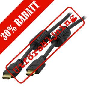 DELTACO HDMI-kabel 3,0 Meter M / M