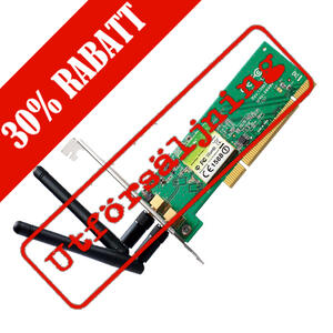 300Mbps Wireless N PCI Adapter with low profile bracket