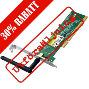150Mbps Wireless N PCI Adapter with low profile bracket