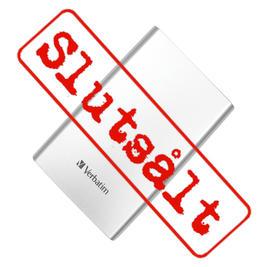 Verbatim store & go USB3.0 hårddisk 500GB