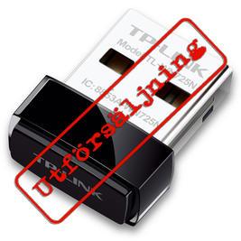 "Wireless USB Adapter: TP-LINK  (""nano"", 150Mbps)"