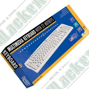 Sweex Multimedia Tangentbord PS2