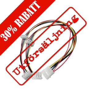 "Y-kabel intern för 4st 5,25"", 50cm"