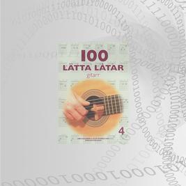 100 Lätta Låtar Gitarr Del: 4