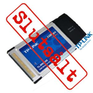 TP-Link 54M Wireless CardBus Adapter