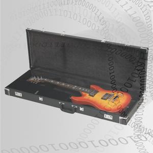Woodcase Gitarr Std SvartTole