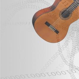 Omsträngning Klassisk gitarr