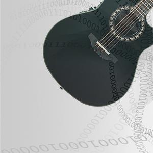 Omsträngning Western gitarr