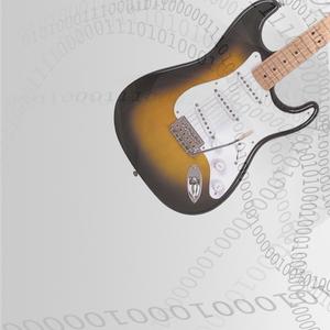 Omsträngning El gitarr