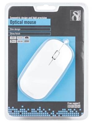 DELTACO optisk mus, 1000 DPI