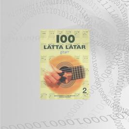 100 Lätta Låtar Gitarr Del: 2
