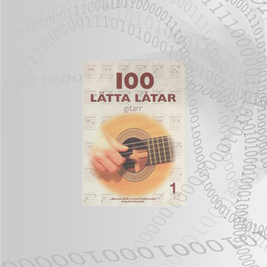 100 Lätta Låtar Gitarr Del: 1