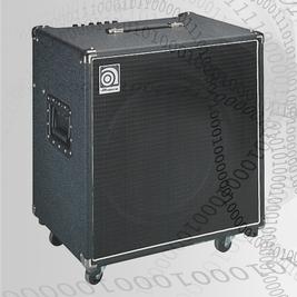 "AMPEG Bascombo, transistor, 220W, 1x15"", inbyggd tuner"